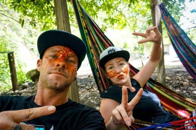 Chilling in hammocks on Machu Picchu adventure trek