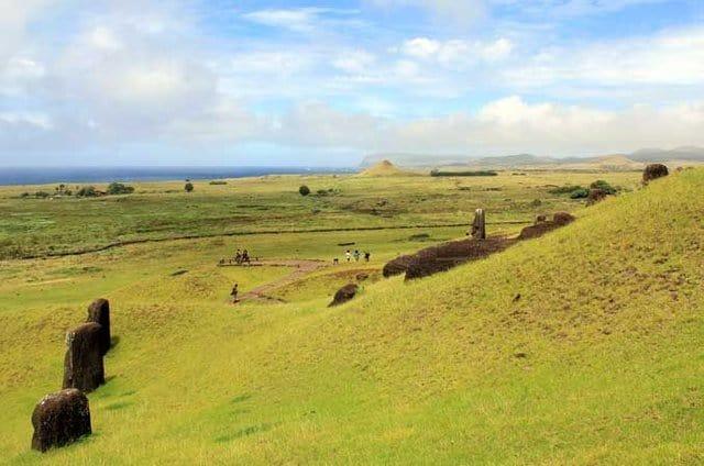 Easter Island quarry