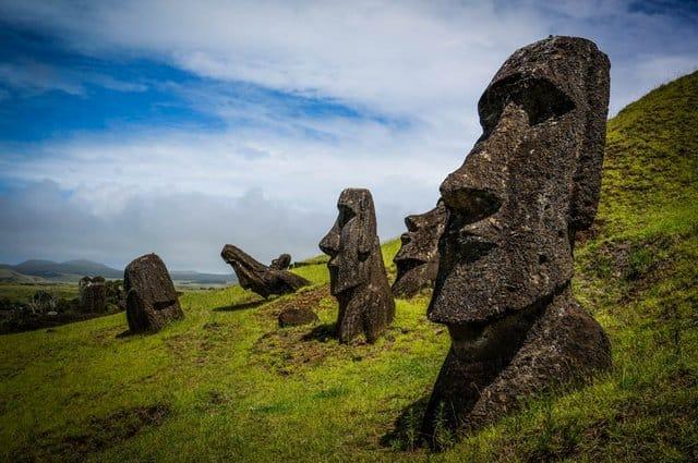 Easter Island Moai's
