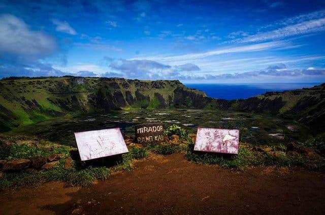 Rano Kau, Easter Island, Chile