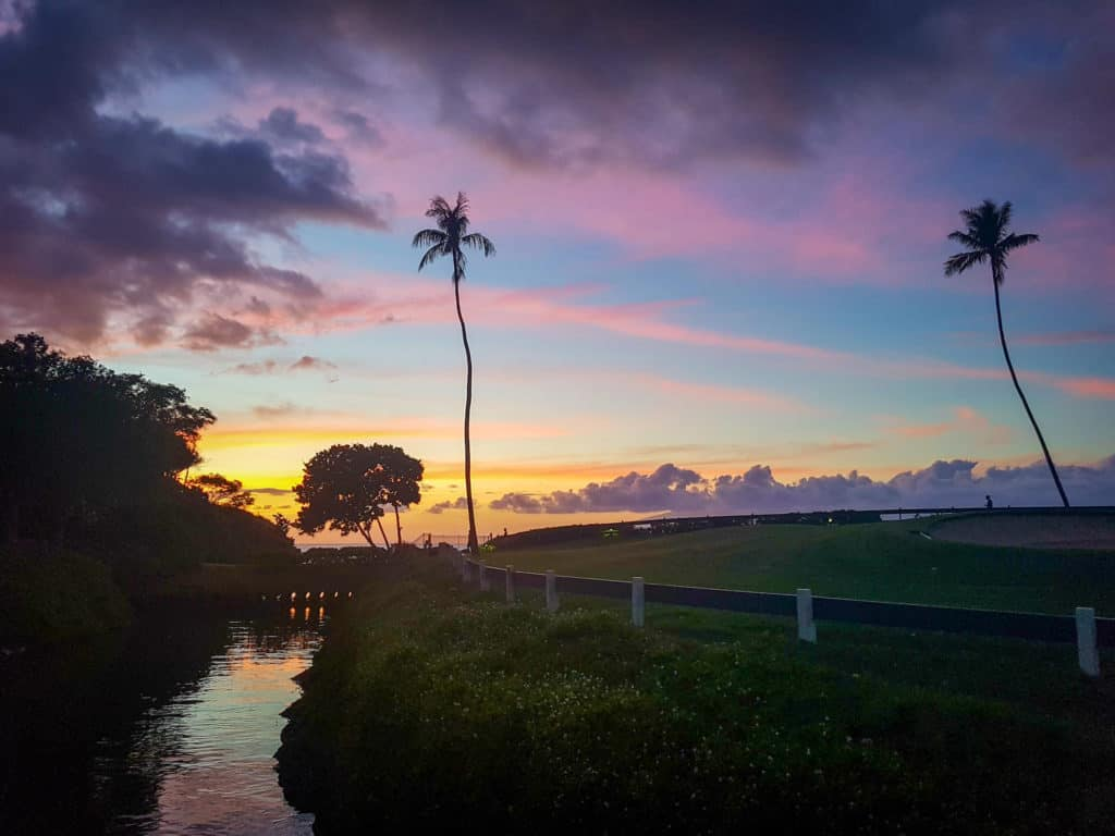 Sunset on Maui, one of the seven things to love