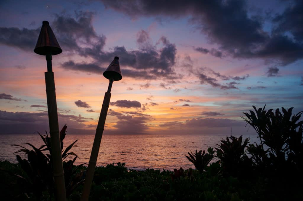 Sunsets on Maui, one of the seven things to love