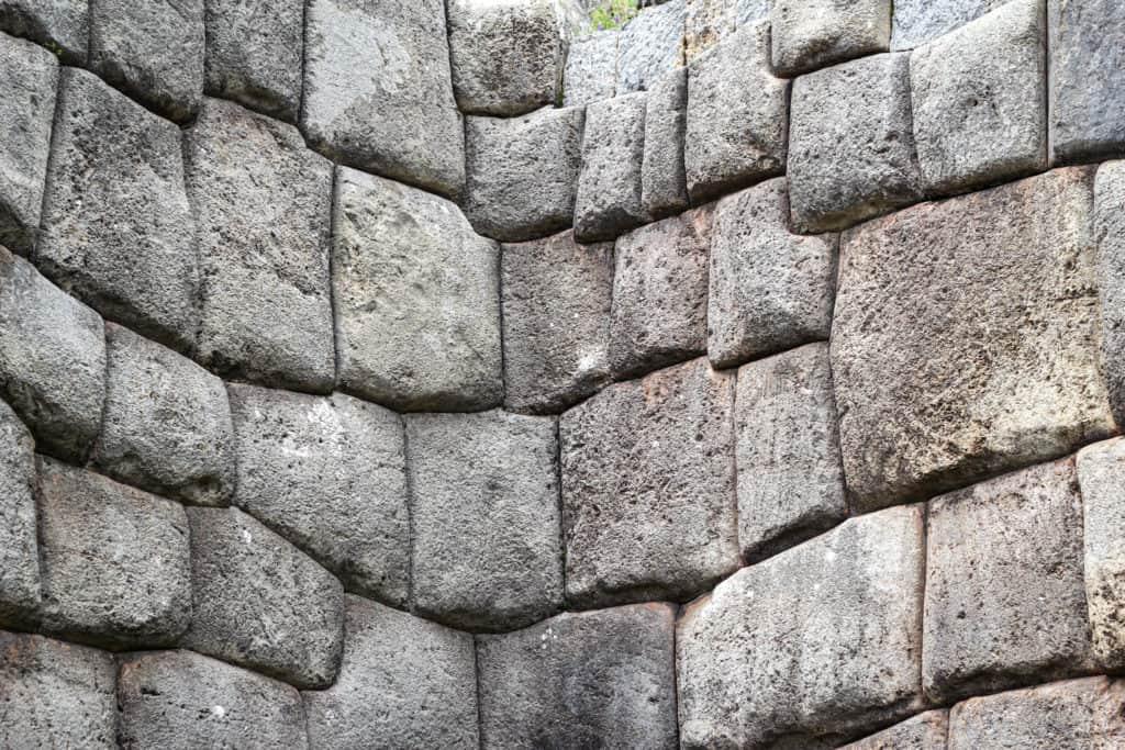 Megaliths in Cusco gateway to Machu Picchu