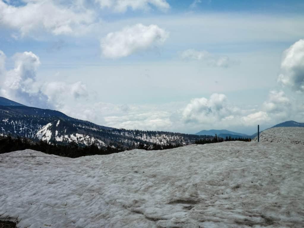 Okama crater MT Zao