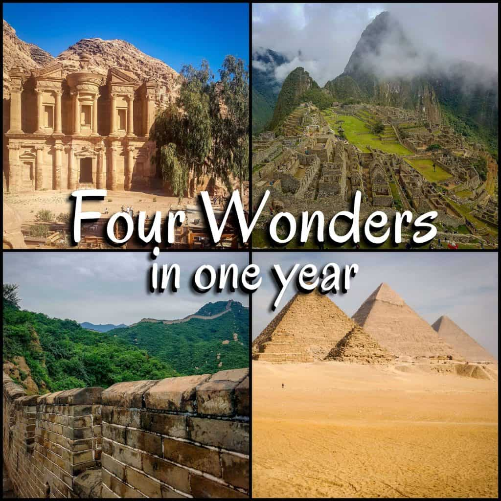 four wonders in one year