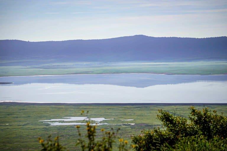 the Ngorongoro Crater in Tanzania.