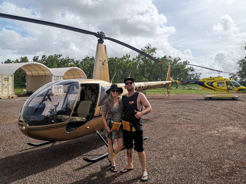 Darwin helicopter pub crawl